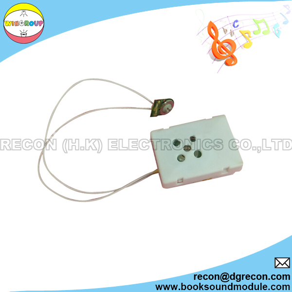 Square sound box for toy module