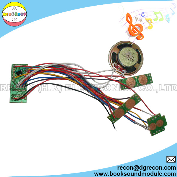 Sound module COB with speaker