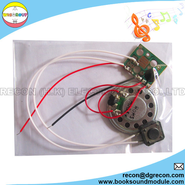 Sound module PCBA with speaker