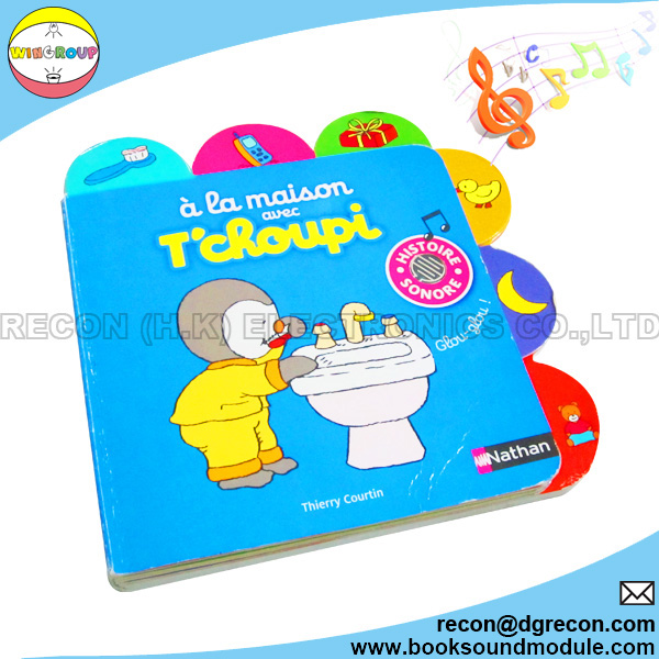 6-button children sound board book