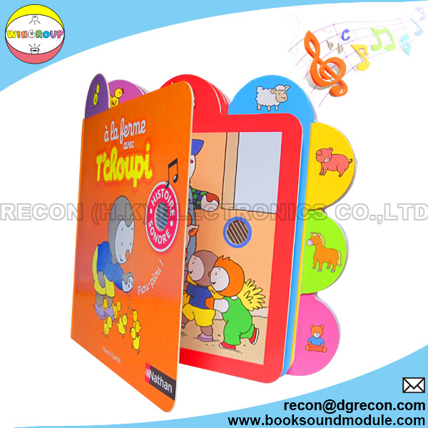 6-button children talking book