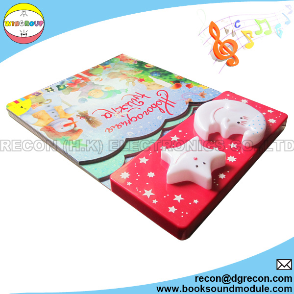 Light up module with children story book