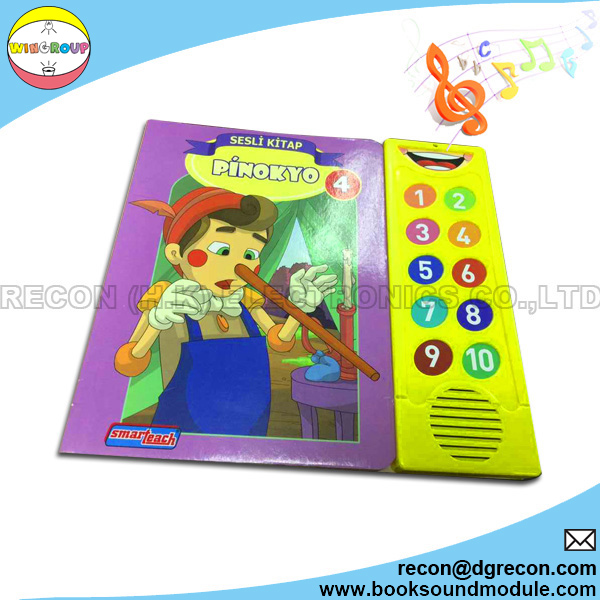 Music instrument sound book